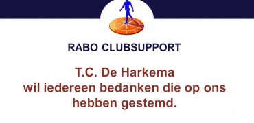 Rabo clubsupportactie opbrengst